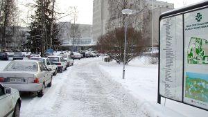 Vaasan keskussairaala.