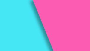 Pinkkiä ja vaaleansinistä