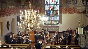Barokkiorkesteri esiintyy kirkossa