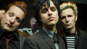 Green Day -yhtye lehdistökuvassa
