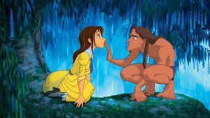 Kuva piirroselokuvasta Tarzan