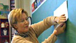 Opettaja taululla