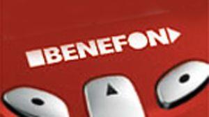 benefon-puhelimen näppäimistö