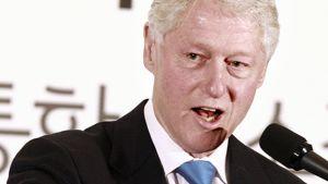 Bill Clinton vierailulla Etelä-Koreassa toukokuussa 2009.