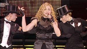 Madonna konsertissaan Helsingin Jätkäsaaressa 6.8.2009.