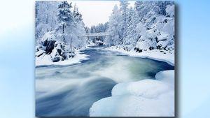 Talvinen Oulankajoki