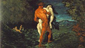 Paul Cézanne, Ryöstö (1867, öljymaalaus)
