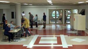 Karkkilan keskustan alueen äänestyspaikkana toimii Yhteiskoulun ja lukion aula.