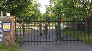 Dragsvikin varuskunnan portti