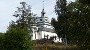 Teijon kirkon torni remontoitiin hiljakkoin vesivahingon takia.