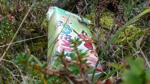 Yksikin roska luonnossa on liikaa. Tämä makasi UK-puistossa.