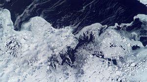 Ajelehtivaa jäätä
