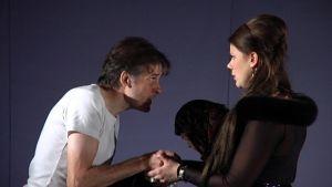 Kolme sisarta -näytelmän tiedotustilaisuus 22.9.2009.