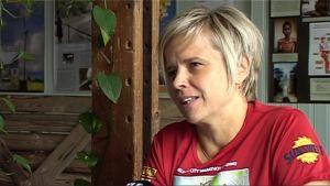 Hanna Kirjavainen haastattelussa.