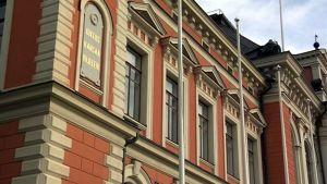 Kuopion kaupungintalon seinä
