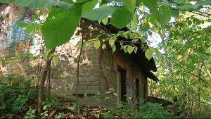Rakennus Vanhan Vaasan asema-alueelta.
