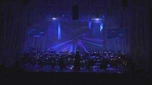 Kuopion kaupunginorkesteri Harry Potter -konsertissa.