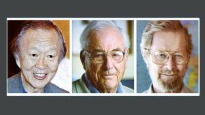 Charles Kao, Willard Boyle ja George Smith.