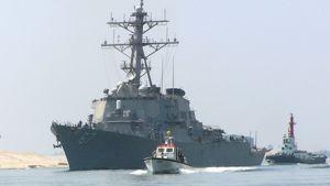 USA:n merivoimien torjunta-alus vierailulle Suomeen.