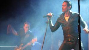 Lauri Tähkä ja Elonkerjuu Turun konsertissa 9.10.2009.