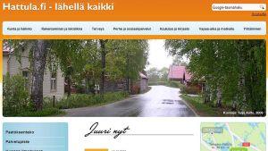 Hattulan kunnan kotisivu