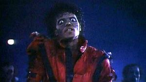 Michael Jackson Thriller-musiikkivideossaan
