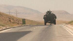 Suomalaiset partioivat Afganistanissa lokakuussa 2009.