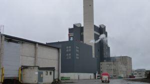 Kainuun Voiman lämpövoimalaitos Kajaanissa.