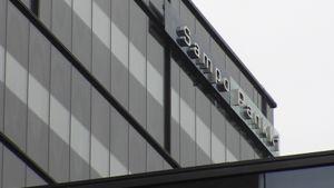 Sampo Pankin logo rakennuksen seinässä