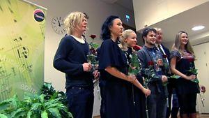 Teosto-palkinnon ehdokkaat ryhmäkuvassa