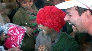 Jari Sillanpää vieraili etiopialaisessa Yewojetin kylässä viime toukokuussa.