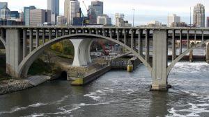Näkymä Minneapolisista