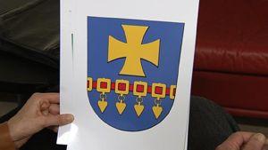 Myös Kauhavan uudessa vaakunassa on uusi esine Suomen heraldiikkaan, eli helavyö.