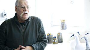 Professori Oiva Toikka on toiminut lasitaiteilijana jo 50 vuotta.