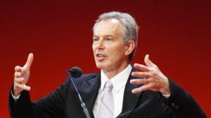 Britannian entinen pääministeri Tony Blair.