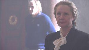 Hella W -elokuvan pääosan esittäjä Tiina Weckström.