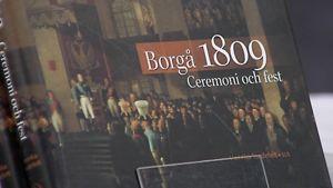 Borgå 1809. Ceremoni och fest -kirjan kansi