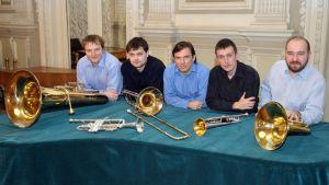 New brass quintet oli yksi Lieksan Vaskiviikon esiintyjistä.