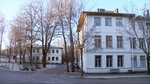 Pitkäniemen sairaalan rakennuksia Nokialla.