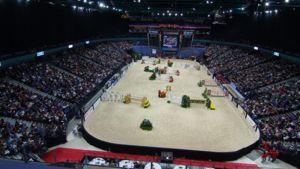 Helsinkin International Horse Show'n areena 2008