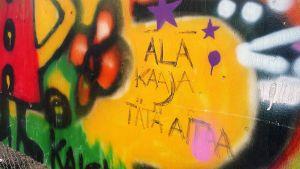 Graffitiseinä Rovaniemellä