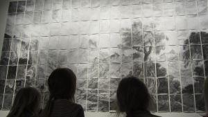 lapset taide taidemuseo