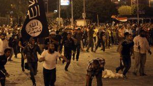 Egyptin islamistiset protestoivat Kairon kaduilla.