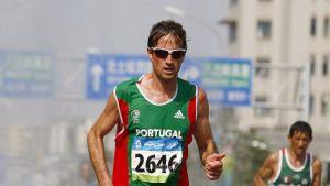 Portugalilainen pitkänmatkanjuoksija Helder Ornelas
