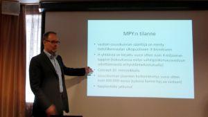 Markku Vettenniemi haluaa muutoksia MPY:n hallintoon.