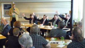 Keskustan puheenjohtajapaneeli Huittisissa Satakunnassa