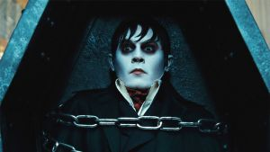 Johnny Depp elokuvassa Dark Shadows.