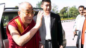 Dalai lama Dharamshalassa lokakuussa