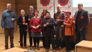 Vasemmistoliiton eurovaaliehdokkaat