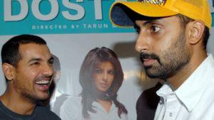 Elokuvan päähenkilöitä esittävät John Abraham ja Abhishek Bachchan.